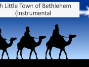 Watch free video Oh Little Town of Bethlehem Instrumental