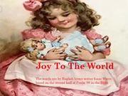 Mira dibujos animados gratis Joy to the World Medley
