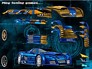 Juega al juego gratis Blue Demon Car