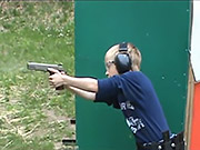 Watch free video Little Boy Shoots with a Real Gun