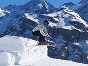 Mira dibujos animados gratis Skier