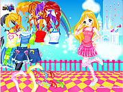 Dancing Madeline Dress Up game