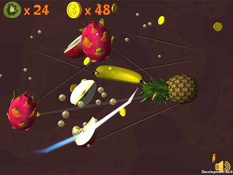 Fruit Slasher 3D game
