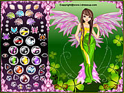 Forest Angel Dress Up game