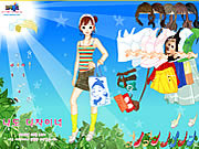 Sunshine Dress Up เกม