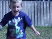 Kids Playing Space Wars