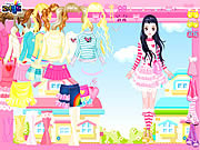 Play Pink Hearts Dress Up game