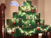 Watch free video Life Size Minecraft Christmas Tree