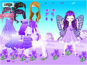 Play Fairy of March Flower Violet game