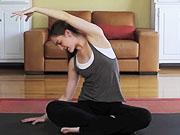 Mira dibujos animados gratis 30 Day Yoga Challenge - Day - 23