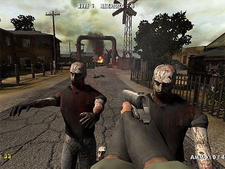 Call of Zombies game