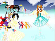 Balerina Dress Up game