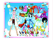 Candy Dress Up 2 game