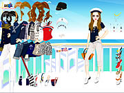 Navy Girl Dress Up