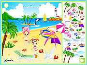 Juega al juego gratis Sea Side Decoration