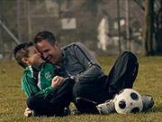 Watch free video Dad & Son Football Session