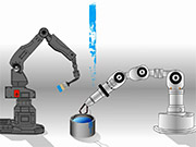 Watch free video Two Robots