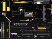 Watch free video HUD Infographics Elements