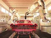 Watch free video designboom visits the ferrari FF production line