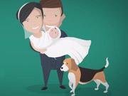 Watch free video Rhoys & Abbie's Wedding Animation
