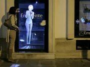 Mira dibujos animados gratis Empreinte Commercial: A Holographic Model