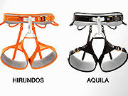 Watch free video High-end climbing and mountaineering harnesses