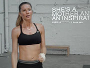 Watch free video Under Armour Commercial: Gisele