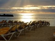 Watch free video Beethoven Music & Sunset on the Beach