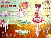 Daphne Dressup spel
