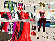 Blank and Red Dressup game