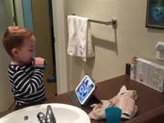 Watch free video Brushing Teeth