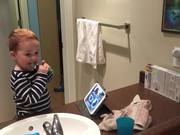 Watch free video Brushing Teeth