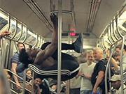 Watch free video NY Subway Dancers