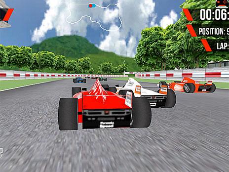 Formula XSpeed 3D game