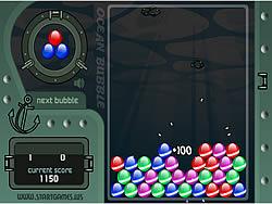 Ocean Bubble game