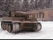 """Test Drive Copy of """"Tiger I"""" Tank"""