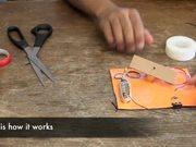 צפו בסרטון מצויר בחינם How to Make a Toggle Switch