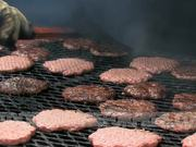 Watch free video Burgers on Grill for Cook Out