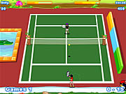 Twisted Tennis spel