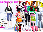 Casual Girl Dressup game