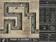 Juega al juego gratis War of Guns