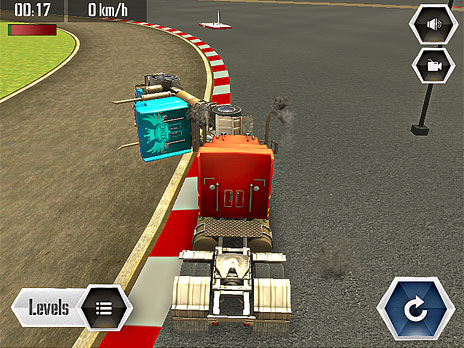Sports Truck Time Trial game