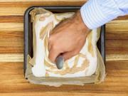 Almond Salted Caramel No Churn Ice Cream