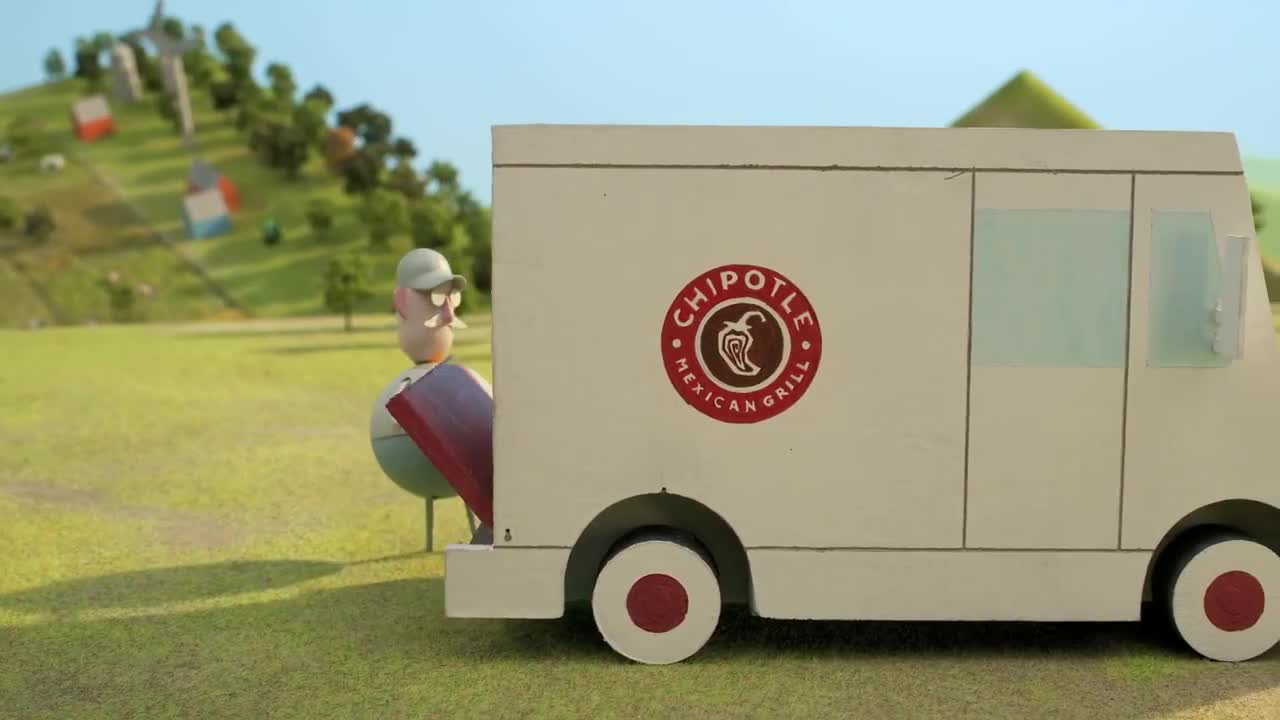 Watch free video Chipotle Commercial: Back to the Start