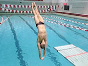 Watch free video Cornell University swimming and diving