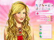 Makeup Ashley Tisdale เกม