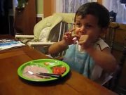 Watch free video Kid Eating