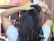 Watch free video Hair Tutorial: Bows & Ribbons