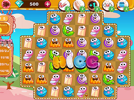 Candy Cafe game
