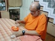 Watch free video Man Feeding a Dog